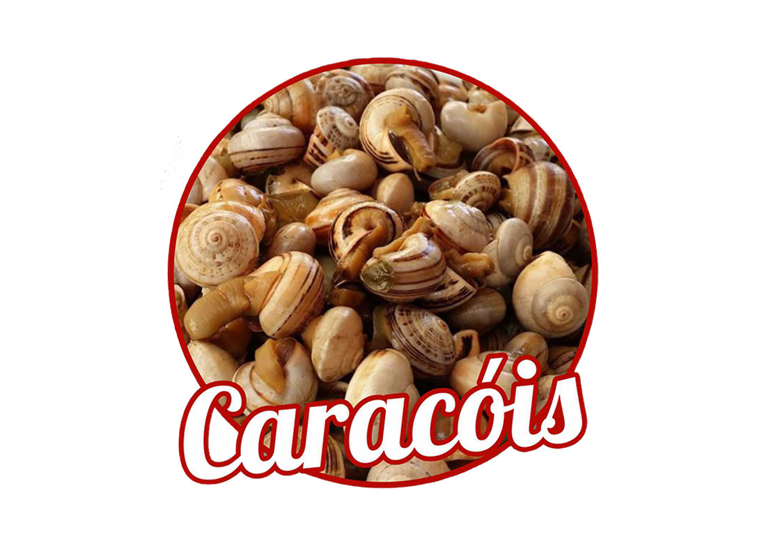 Caracóis (prato grande)